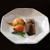 長萩和牛ステーキ