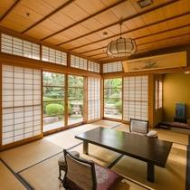 総檜造りの特別室 和室10帖+4.5帖 (禁煙ルーム)
