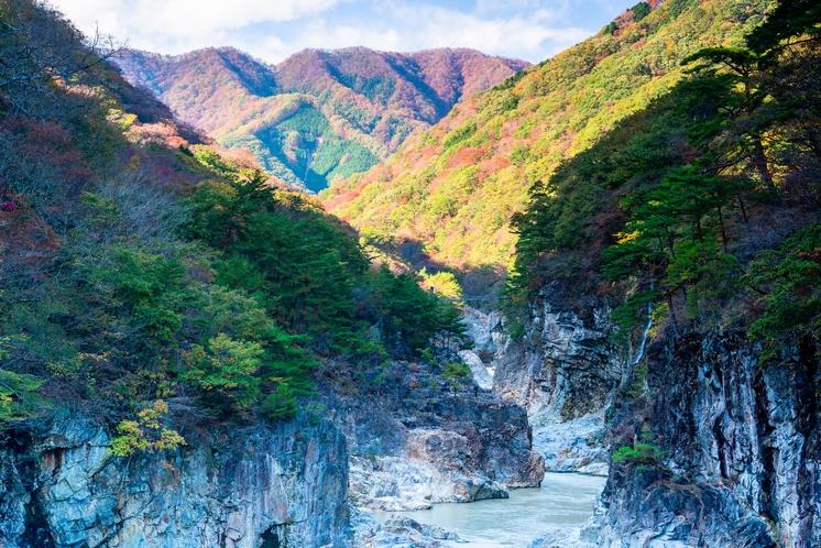 秋の龍王峡