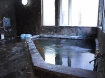 24時間貸切利用可能「岩風呂」