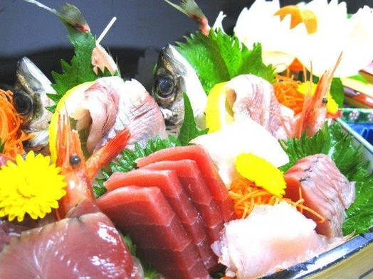 【当館人気】【豪快グルメ】伊勢海老もしくは、あわびの高級チョイス&南房総の新鮮地魚舟盛プラン