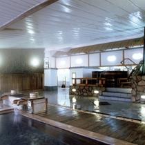 *古代檜風呂と樽風呂