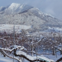 【スポーツ】冬の高社山とよませ温泉スキー場