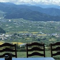 レストランから眺める風景