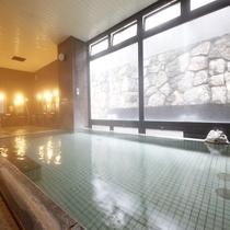 館内大浴場も天然温泉♪24時間OPEN *こちらは当館ご宿泊のお客様のみご利用可能です。