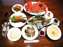 オプション「海の幸」コースディナー