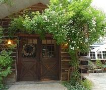 野バラの玄関