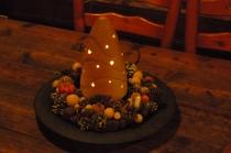 クリスマスのランプ