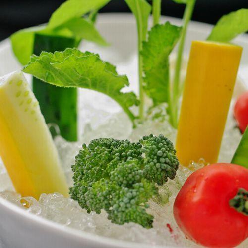 旬の新鮮、生野菜