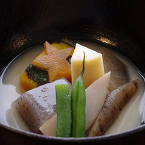 温もり野菜の和風ミネストローネ