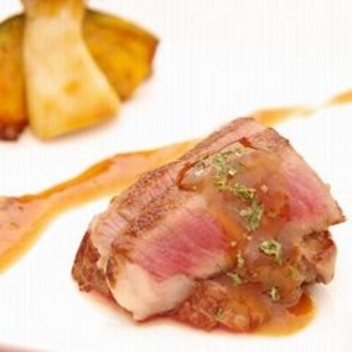 ふらの和牛ヒレ肉のステーキ