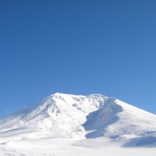 晴天の旭岳
