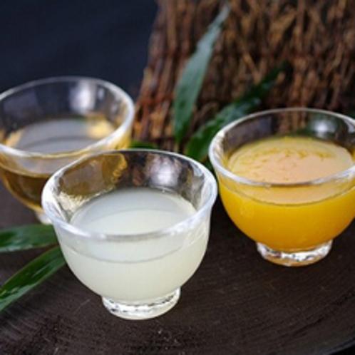 【女性限定プラン特典】お勧め果実酒3種