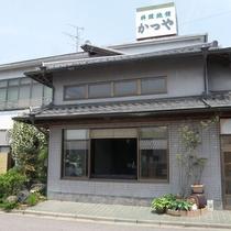 【本館外観】中川辺駅から徒歩3分!アクセスに便利です