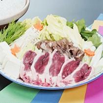 *鴨鍋(季節限定)/新鮮な鴨肉をたっぷりのお野菜と食す幸せ鍋。