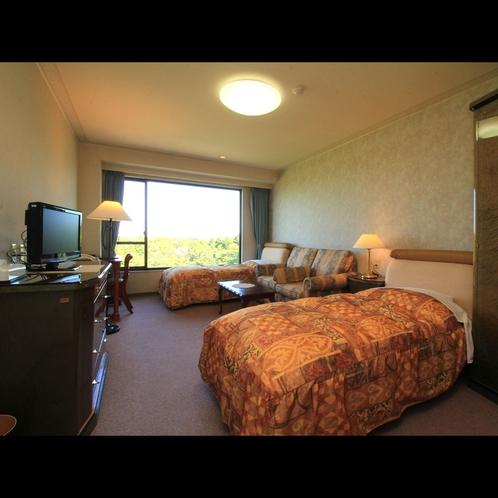 客室◇3室限定のツインルーム(バストイレ、洗面台付)