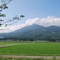 夏 磐梯山