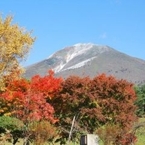 秋 磐梯山