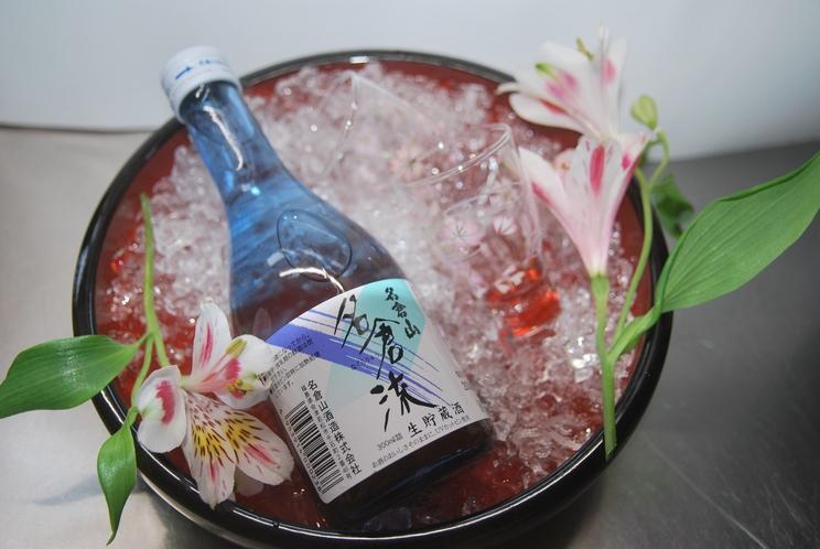 【馬刺&地酒プラン】酒処会津の地酒と会津銘産馬刺をどうぞ・・・。