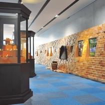 ≪八戸ポータルミュージアム『はっち』≫ 展示スペース 八戸歴史も見ることが出来ます。
