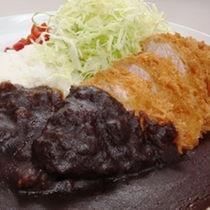 ◆上田カツカリー ・夕食メニューの一番人気!!