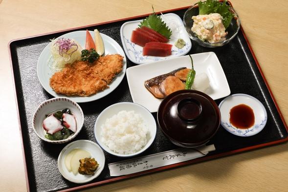 【夕食付】美味しい手作りの夕食付プラン。白米おかわり自由です!