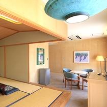 和室【55平米】リビングスペース