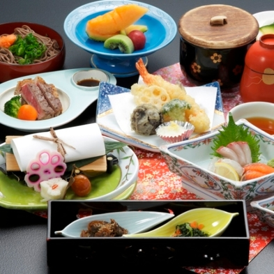 だんだんプラン★1泊夕食付プラン(バストイレ付特別室)