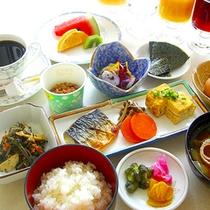*【朝食一例/和食】きちんと栄養をつけて元気に1日を過ごしましょう