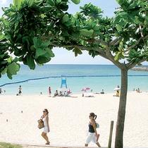 *【トロピカルビーチ】当館より徒歩5分で泳げちゃう!