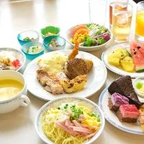 *【ランチバイキング一例】おなかいっぱい食べちゃう!