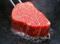 黒毛和牛ステーキをご用意