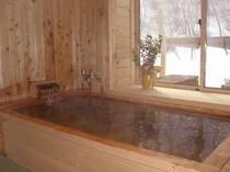 天然温泉の貸切風呂