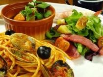 イタリアン&グリル料理のボリュームディナー