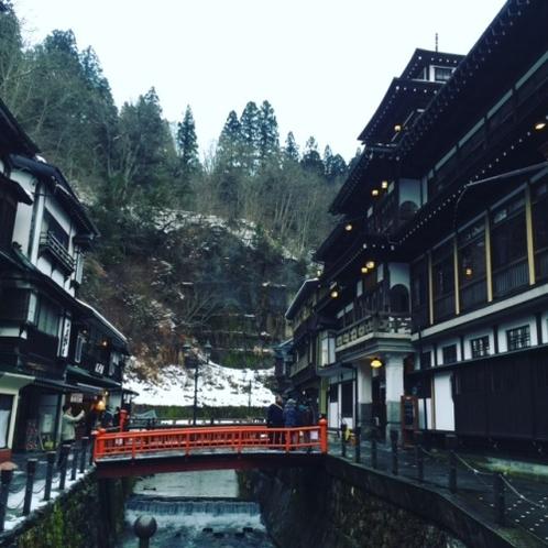 ◆銀山温泉まで車で60分少々です◆