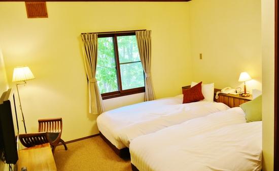 ツインベッドルーム Twin Bed Room