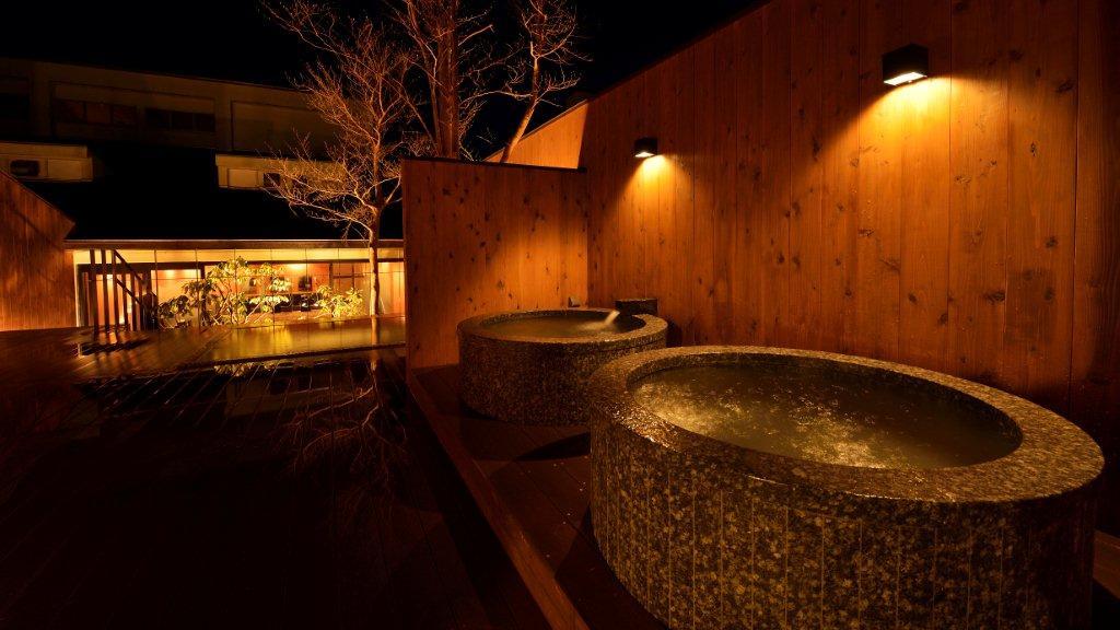 露天風呂のつぼ湯
