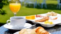 ご朝食の和洋ブッフェ