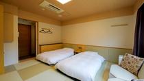 スタンダード和室ツイン(21平米・バス無・トイレ有)