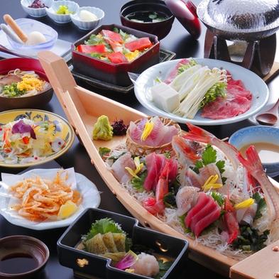 【好評につき期間延長】飲み放題付の宿泊プラン♪お食事は富山と氷見が堪能できる舟盛付!白エビ満喫コース