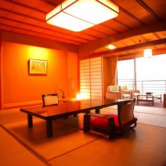 海が一望できる別館天遊グレードアップ客室(夕食お部屋食)