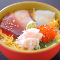 【〆の海鮮チラシ寿司】
