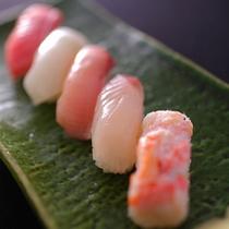 【〆の板前握り寿司1人前5貫】
