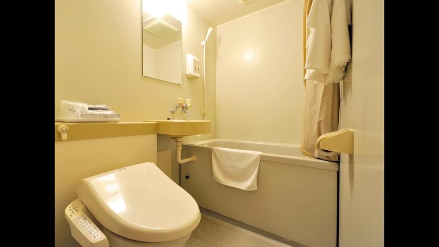 【ツインルーム【禁煙】18平米】バス・トイレ一例