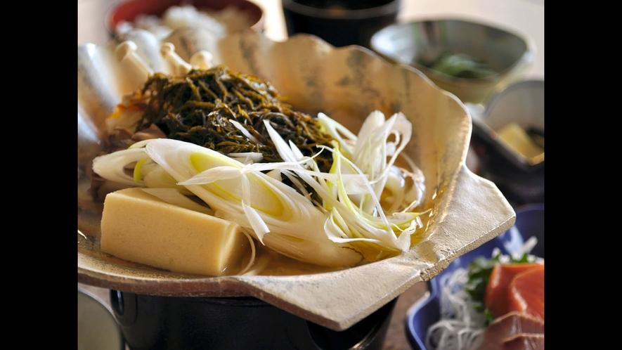 【味噌貝焼定食】下北名物の郷土料理をぜひご賞味ください。
