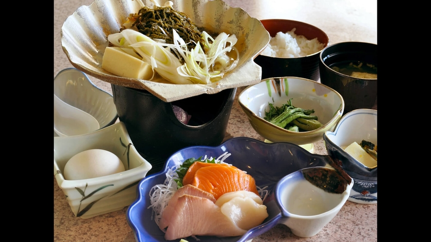 【味噌貝焼定食】