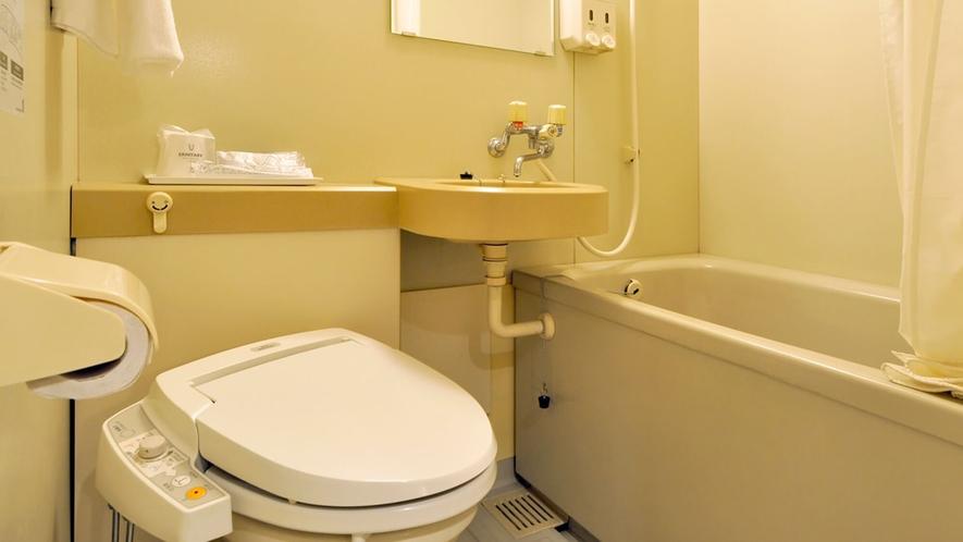 【シングルルーム】バス・トイレ一例