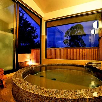 【離れ】限定2室☆専用の半露天風呂付き客室<禁煙>