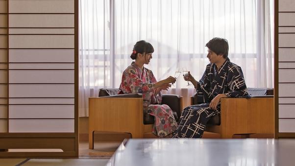 【西館】和室8帖☆少し手狭な和室<喫煙>