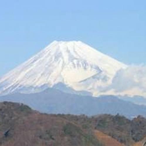 富士山一望です